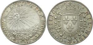 O3675 Rare R2 Jeton Conseil du Roi Louis XIII 1623 Argent Silver ->Make offer