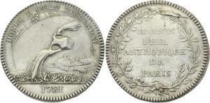 O3688 Rare Franc Maconnerie Grand Orient de France Maison philanthropique 1781