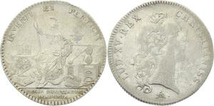O3702 Jeton Académie Royale Sciences 1747 Argent Silver ->Make offer