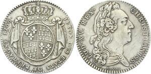 O3734 Rare Jeton Louis XV Etats Bretagne Rennes 1766 Argent Silver ->Make offer