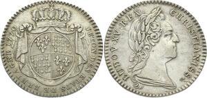 O3736 Jeton Louis XV Etats Bretagne Rennes 1770 Argent Silver SUP ->Make offer
