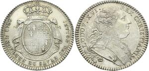 O3752 Rare Jeton Louis XVI États Rennes Bretagne 1780 Argent SUP ->Make offer