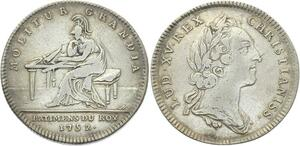 O3760 Rare R3 Jeton Louis XV Batiments du Roi Molitur Grandia 1752 Argent