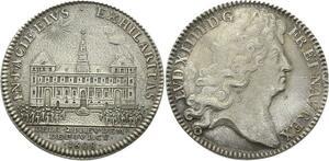 O3807 Rare Louis XIV Henri de Fourcy Prévot Paris 1688 Argent Silver SUP