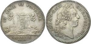 O3855 Jeton Louis XV Monnaie de Paris balanciers Monnaies 1723 Argent