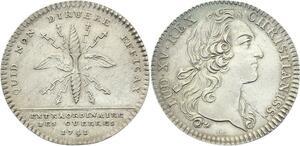 O3874 Jeton Louis XV Extraordinaires des Guerres 1741 Argent Silver Superbe