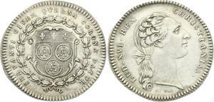O3879 Jeton Louis XVI Servanti Civem Querna Corona Argent Silver ->M offre