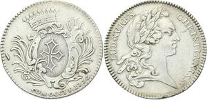 O3882 Jeton Louis XV Les Etats du Languedoc 1756 Argent Silver ->Make offer