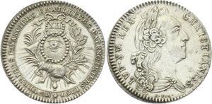 O3899 Rare R2 Jeton Louis XV Verriers Fayenciers Émailleurs 1767 SUP