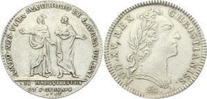 O3906 Rare Jeton Louis XV Marguilliers Saint Gervais SAINT-Protais 1715 Argent