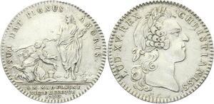 O3919 Rare Jeton Sainte Madelaine Evêque 1750 Argent Silver ->Make offer