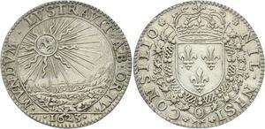 O3947 Rare R2 Jeton Louis XIII Conseil Roi 1623 Argent ->Make offer