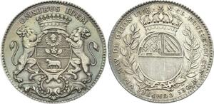 O3956 Rare Jeton Louis XV Dijon Maire Nicolas Claude Rousselot 1766 Argent
