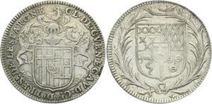 O3973 Rare Jeton sous Louis XIV Noblesse Claude de Guenegaud Martel Argent