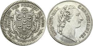 O3992 Rare R2 Jetons Louis XVI Corporations Bonnetiers 1758 Argent Silver SPL