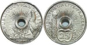 O3 Rare 25 Centimes Essai 1914 PGCS SP66 FDC -> Make offer