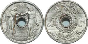 O14 Rare 25 Centimes Essai Varenne 1913 PGCS SP67 FDC -> Make offer