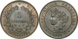 O305 Rare 5 Centimes Cérès 1896 A Paris FDC !!!  -> Make offer