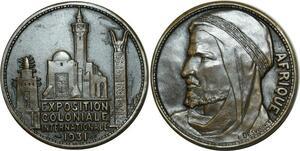 O966 Médaille Paris Colonial Exposition 1931 Afrique desvignes