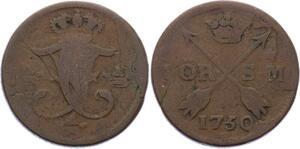 O1965  Schweden Suede Öre 1750 Friedrich I