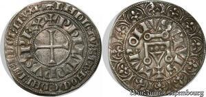 S8281 Philippe IV gros tournois à l'O rond 1305 Argent Silver ->Faire Offre