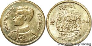 S8648 Thailand 5 Satang Rama IX 2493 1950 BU -> Make Offer