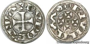 S8689 Duché d'Aquitaine 1127-1137 DenI Guillaume X Bvrdegiila Argent