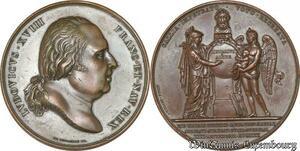S8764 médaille REtour cendres Napoléon aux Invalides Pouat 1844 Montagny