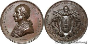 S9038 Medaglia Vatican Leo XIII 1878 Avctore ecclesiae Vniversae Rector Datvs