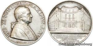 S9049 Medaglia Vatican Benedictvs XV 1936 Romanae Cvriae Congregationibvs FDC