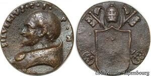S9067 Medaglia Vatican Pope Silvere Silverivs 536 540 Keys Clés