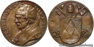 S9085 Medaglia Medal Papal Vatican Pope Stephanvs IV Pont Max Christ ->M offer