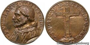 S9087 Medaglia Medal Vatican Pope Stephanvs VIII Pont Max Cross Croix