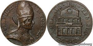 S9102 Medaglia Papal Pope Stephanvs VI Adorabo * Templo * An * Tvo ->M offer