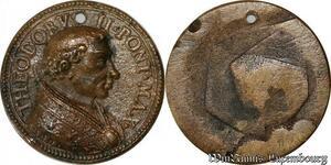 S9104 Medaglia Medal Vatican Pope Theodorvs II Pont Max Christ uniface