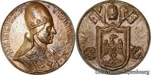 S9116 Medaglia Papal Vatican Pope Benedictvs IIII Pont Max Keys Clés ->M offer
