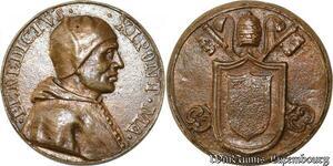 S9118 Medaglia Papal Vatican Pope Benedictvs XI Pont Max Keys Clés ->M offer