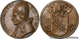S9119 Medaglia Papal Vatican Pope Bonifacius VIII Pont Max Keys Clés ->M offer