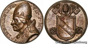 S9128 Medaglia Medal Papal Vatican Pope Innocentivs VII Pont Max Keys Clés