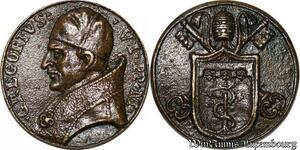 S9147 Medaglia Medal Papal Vatican Pope Gregorivs VI Pont Max Keys Clés