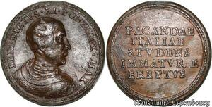 S9148 Medaglia Medal Papal Vatican Pope Benedictvs XI Italy Studens ->M offer