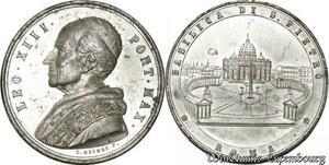 S9154 Medaglia Vatican Pope v Pont Max Basilica di Pietro in Roma->M offer