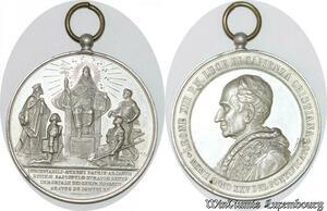 S9202 Medaglia Vatican Pope Leo XIII Graves de Comuni SPL