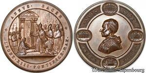 S9205 Medaglia Vatican Pope Leo XIII Annus Sacer Leone Pontifice Max -