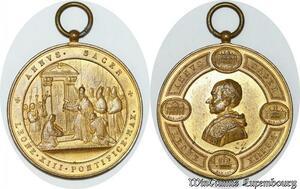 S9206 Medaglia Vatican Pope Leo XIII Annus Sacer Leone Pontifice Max