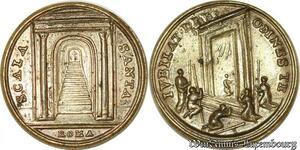 S9215 Medaglia Medal Papal Vatican Scala Sancta Roma ivbilat devonnes Jubilee