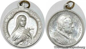 S9245 Médaille Papal Vatican Pius Pie XI Pont Max Roma Teresia Jesus 1925