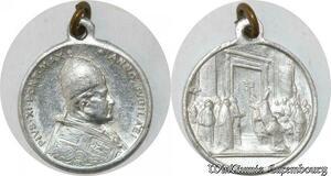 S9272 Médaille Papal Vatican Pius Pie XI Année Jubilée ->Make offer