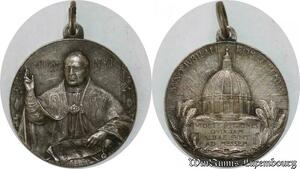 S9275 Médaille Papal Vatican Pius Pie XI Jubilae 1925 Silvered ->Make offer