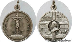 S9290 Médaille Vatican Pie XI Pont Max Anno Jvbilaei Christ 1933-34 Silvered